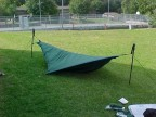 Hennesssey Hammock as a bivy shelter