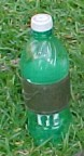 Mt. Dew bottle - with Duct tape